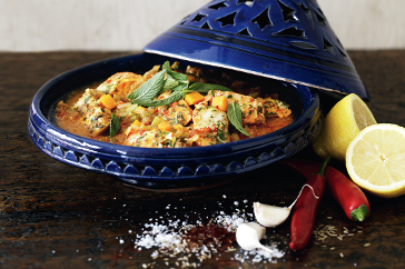 Delicious Recipes: Spiced Vegetable Tagine