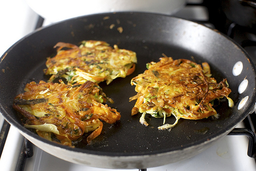 Delicious Recipes: Kale, Carrot & Honey Fritters