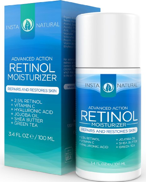 Review: InstaNatural Retinol Moisturising Cream
