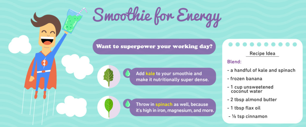 Smoothies - Top 7 excuses to enjoy them + infographic download