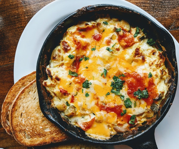 Eat omletes to create a better body